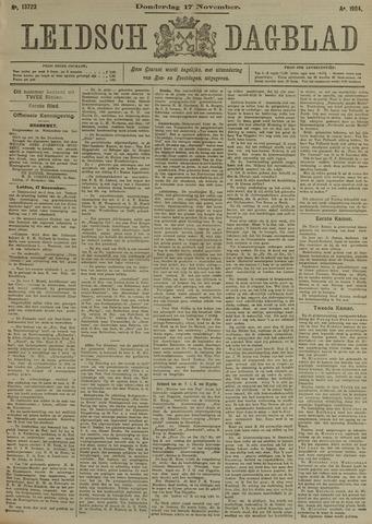 Leidsch Dagblad 1904-11-17