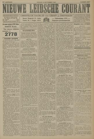 Nieuwe Leidsche Courant 1927-09-09