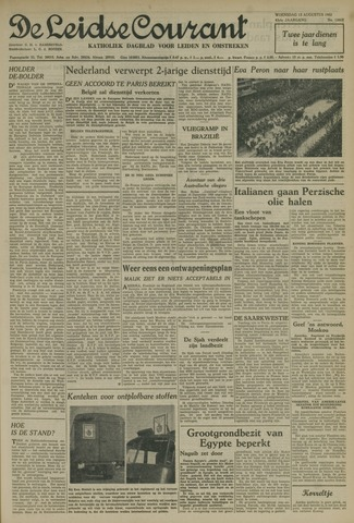 Leidse Courant 1952-08-13