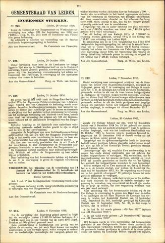 Handelingen van de Raad 1916-10-28
