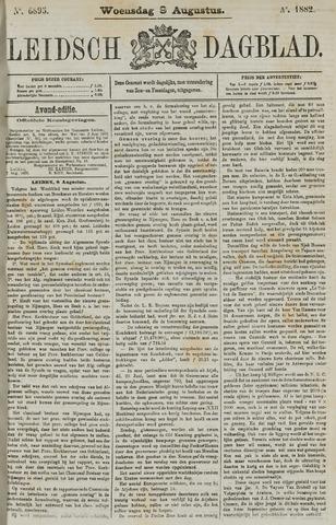 Leidsch Dagblad 1882-08-09