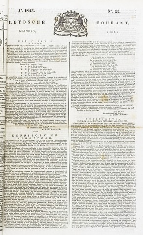 Leydse Courant 1843-05-01