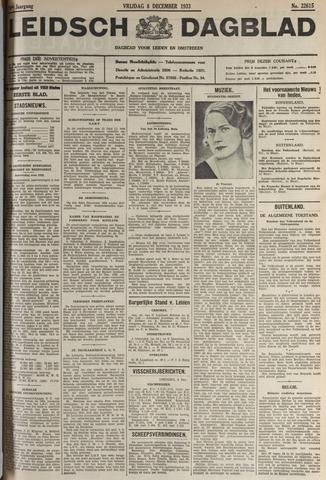 Leidsch Dagblad 1933-12-08