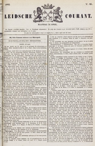 Leydse Courant 1882-04-24