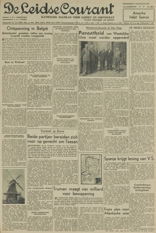 Leidse Courant 1950-08-02