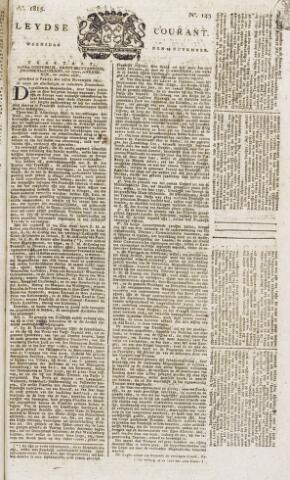 Leydse Courant 1815-11-29