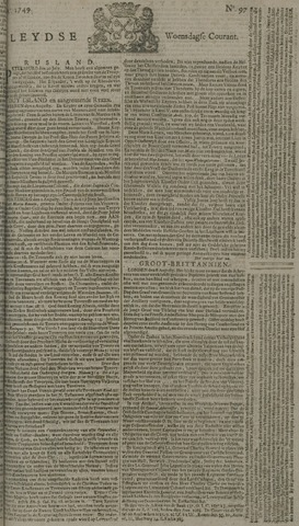 Leydse Courant 1749-08-13
