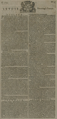 Leydse Courant 1744-02-26