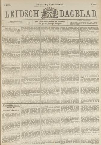 Leidsch Dagblad 1893-11-01