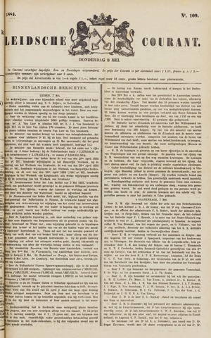 Leydse Courant 1884-05-08