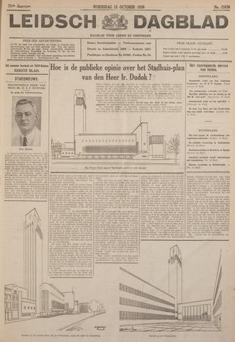 Leidsch Dagblad 1930-10-15
