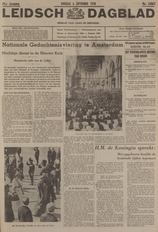 Leidsch Dagblad 1938-09-06