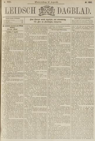 Leidsch Dagblad 1892-04-02