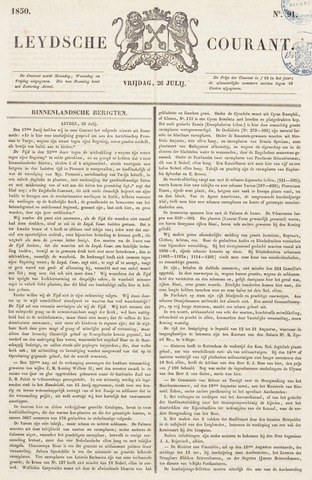 Leydse Courant 1850-07-26