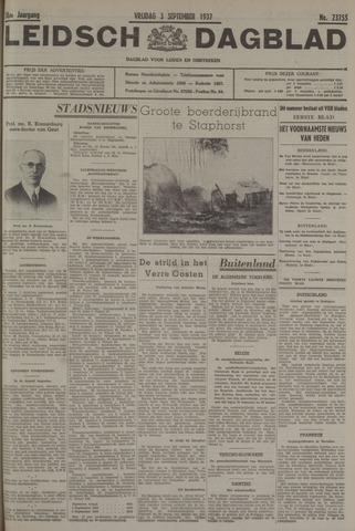 Leidsch Dagblad 1937-09-03