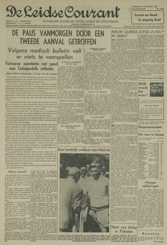 Leidse Courant 1958-10-08