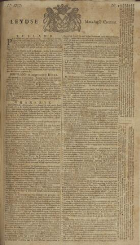 Leydse Courant 1757