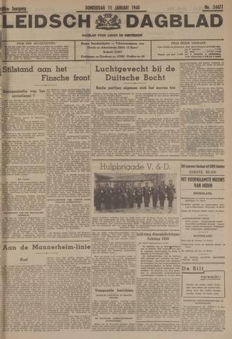 Leidsch Dagblad 1940-01-11