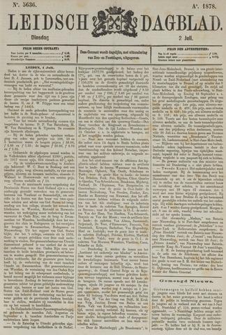 Leidsch Dagblad 1878-07-02