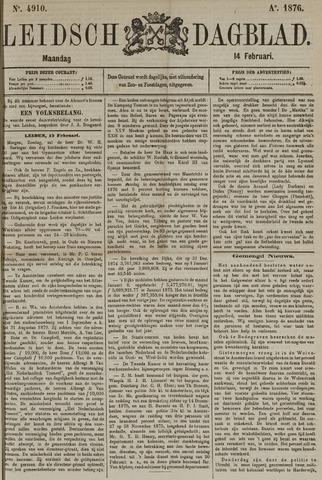 Leidsch Dagblad 1876-02-14