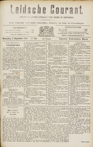 Leydse Courant 1889-09-11