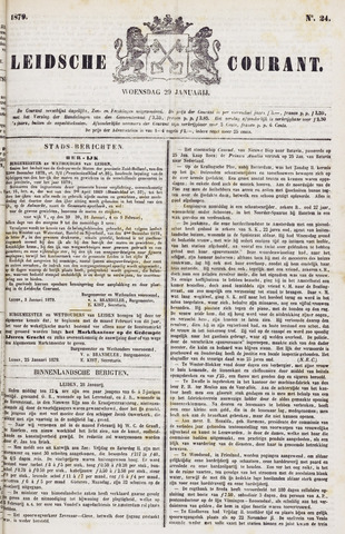 Leydse Courant 1879-01-29
