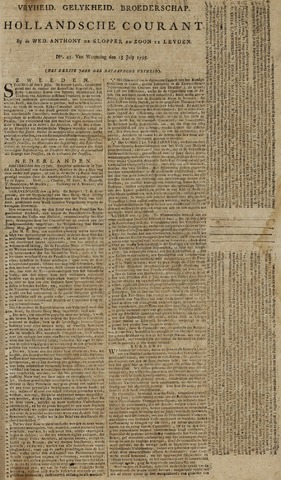 Leydse Courant 1795-07-15