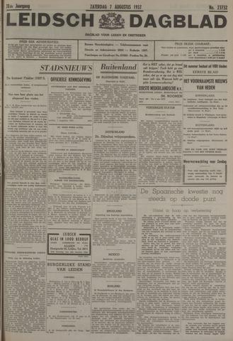 Leidsch Dagblad 1937-08-07