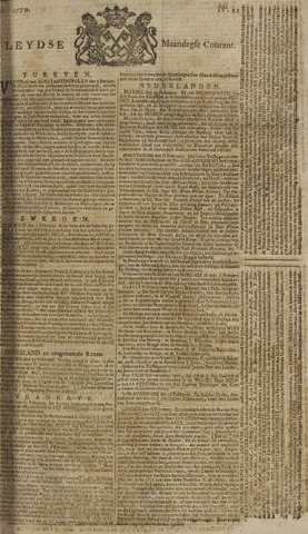 Leydse Courant 1770-02-19