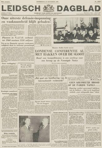 Leidsch Dagblad 1956-09-20