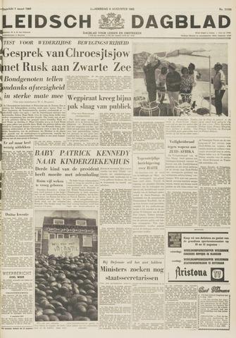 Leidsch Dagblad 1963-08-08