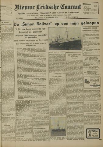 Nieuwe Leidsche Courant 1939-11-20