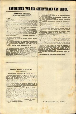 Handelingen van de Raad 1872-01-21