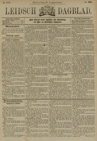 Leidsch Dagblad 1890-08-09