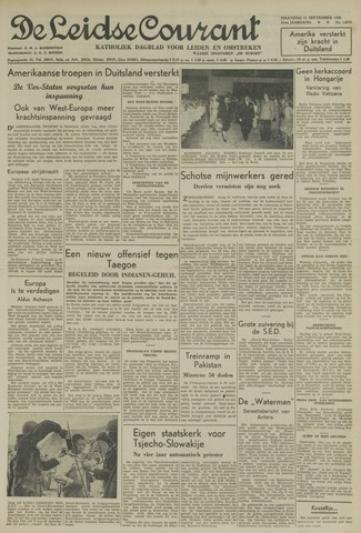 Leidse Courant 1950-09-11