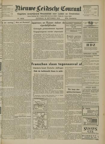 Nieuwe Leidsche Courant 1939-09-16