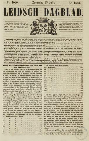 Leidsch Dagblad 1863-07-25
