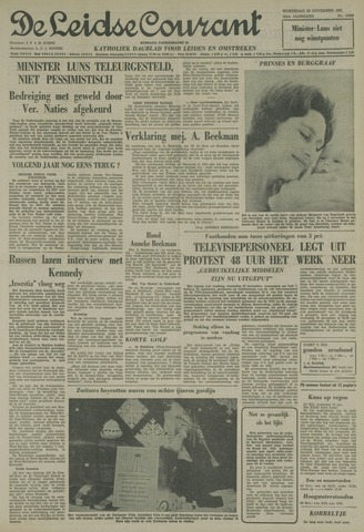 Leidse Courant 1961-11-29