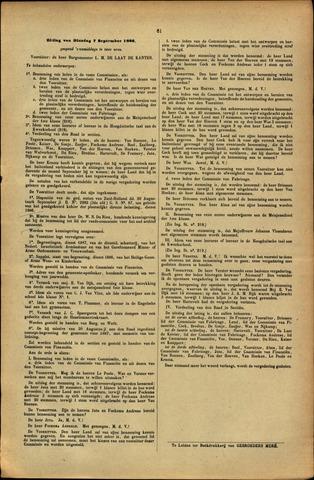Handelingen van de Raad 1886-09-07