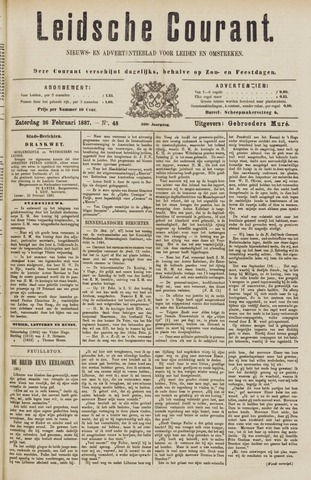 Leydse Courant 1887-02-26