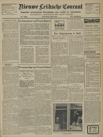 Nieuwe Leidsche Courant 1938-05-02