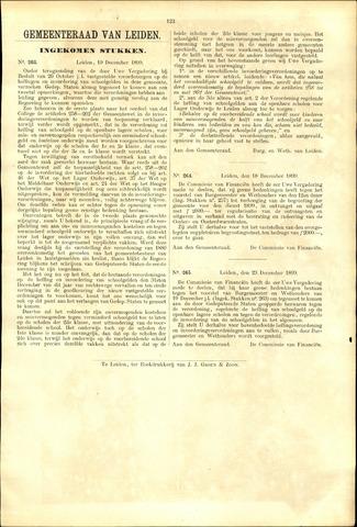 Handelingen van de Raad 1899-12-19