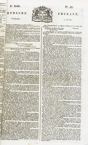 Leydse Courant 1843-04-07