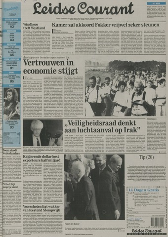 Leidse Courant 1992-07-21