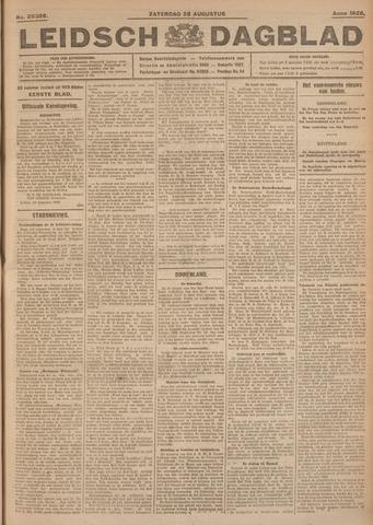 Leidsch Dagblad 1926-08-28