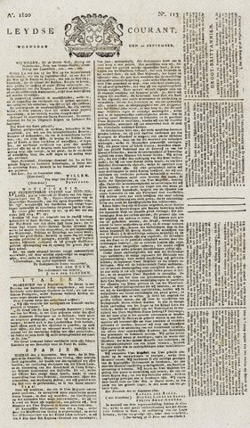 Leydse Courant 1820-09-20