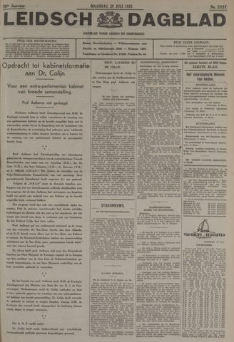 Leidsch Dagblad 1935-07-29
