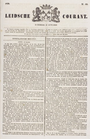 Leydse Courant 1876-01-15