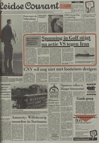 Leidse Courant 1987-09-22