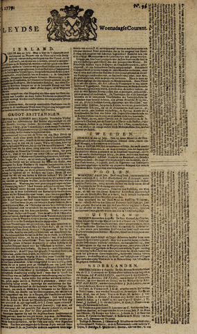 Leydse Courant 1779-08-11